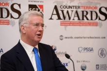 Sir Michael Fallon - Counter Terror Awards 2018