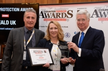 Debbie Heald, Michael Fallon - Counter Terror Awards 2018